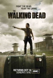 Promo poster for season 3 of The Walking Dead