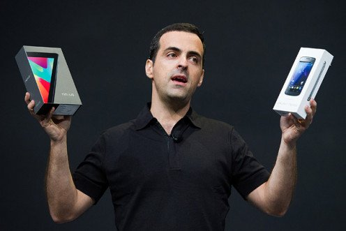 A photo of Hugo Barra, director of product management at Google Inc.