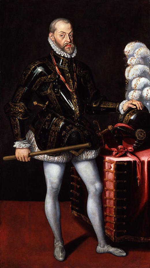 King Philip II of Spain.