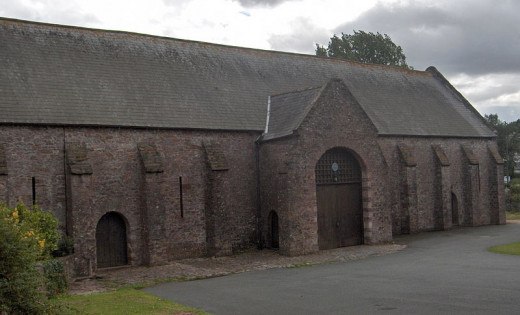 This is the Spanish Barn in Torquay, England which held around 400 Spanish prisoners in the aftermath of the Armada.