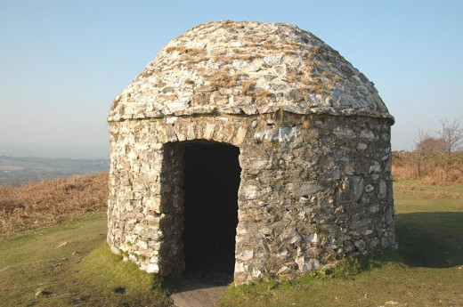 This signal station was built in 1588 above the Devon village of Culmstock, to warn of the approaching Armada.