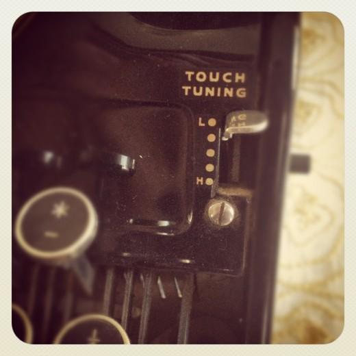 My antique typewriter