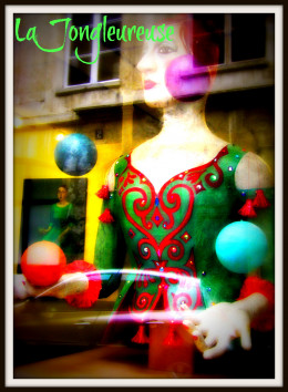The Juggler, archetype of the Magician.  Edited in PicMonkey and BeFunky