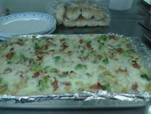 My Chicken Broccoli Lasagna