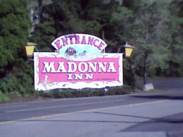 Madonna Inn Entrance sign. (C) C. J. Grace