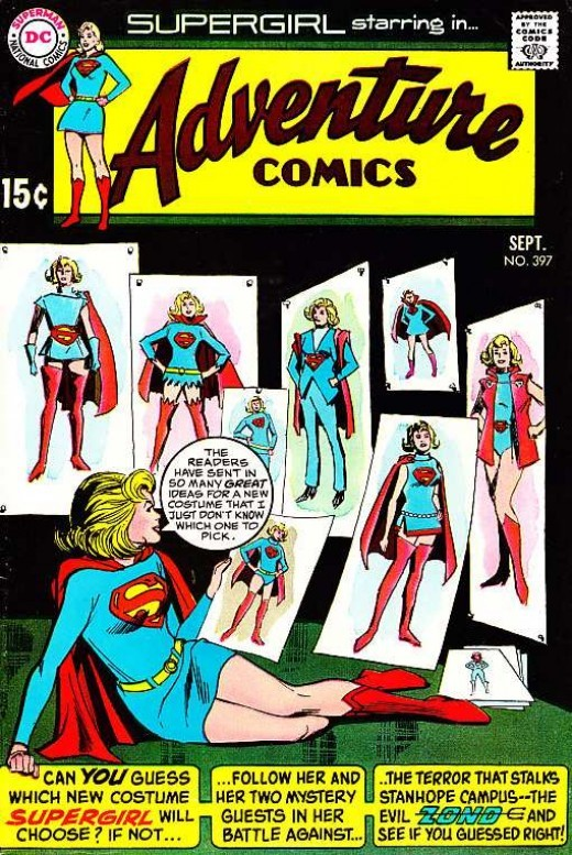 Adventure Comics 397 Cover