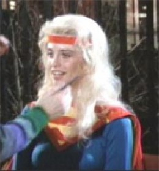 Helen Slater Test Shot for Supergirl Movie