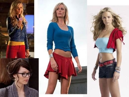 Laura Vandervoot as Kara Zor-El in Smallville