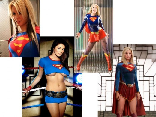 Cosplay Supergirl Costumes