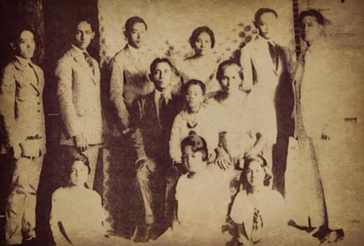 Perfecto and Amalia's family