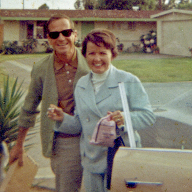 Mom and dad in 1968 while I was in Vietnam. Yes, I still have this photo.