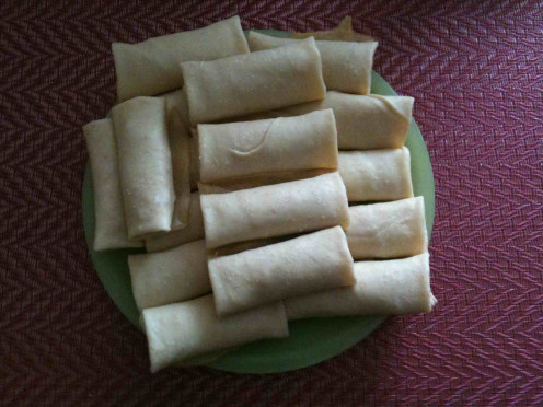 Farmer Cheese Blintzes (uncooked)