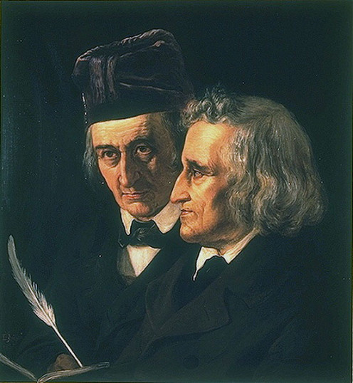 The Brothers Grimm, Jacob and Wilhelm Grimm.