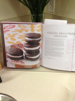 The book, Whoopie Pies,  has colorful photo examples and the recipes are easy to follow.