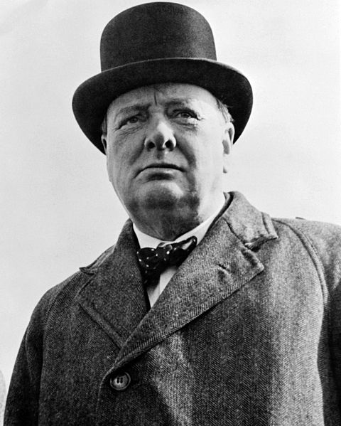 Winston Churchill was a first born child, the eldest of two brothers.