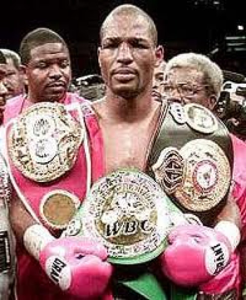 The Oldest Boxing Champion ever, Bernard Hopkins won the light heavyweight crown at 47 years of age by defeating Tavoris Cloud.