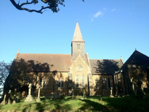 Busbridge Church in Godalming
