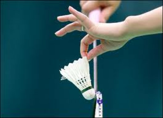 Badminton is a fun, fast, high energy game. You can play one on one or in teams of two on two or three on three if you have enough room.