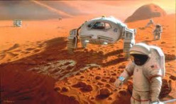 Space travel hazards in Mars human mission