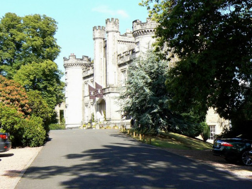 Airth Castle Hotel is very old and is home to many ghosts and spirits