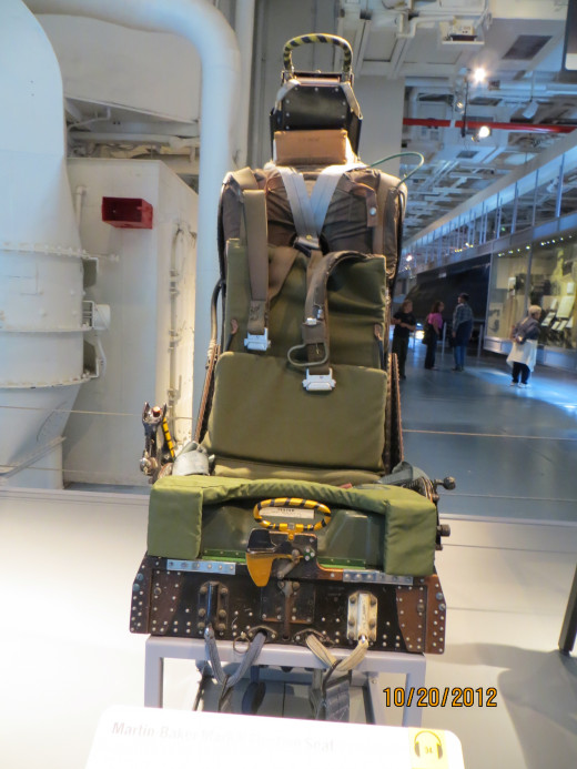A pilot 'ejector' seat