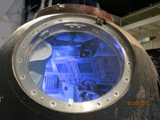 Replica of a Russian Space Capsule