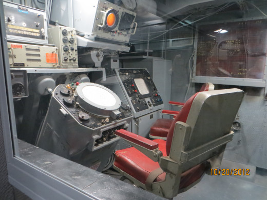 One of the control rooms