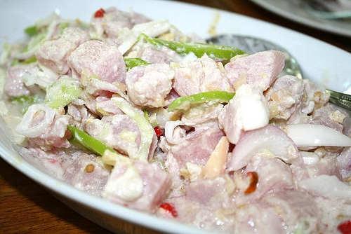 Pork Kinilaw