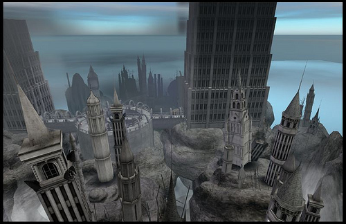 """The Abyss"" A Second Life picture from my Flickr site."