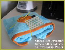 Cheap Eco-Friendly Green Alternatives to Wrapping Paper