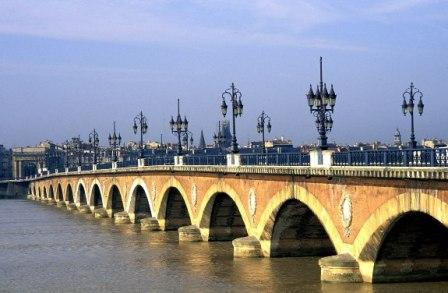 Pont de Pierre - Bordeaux, France
