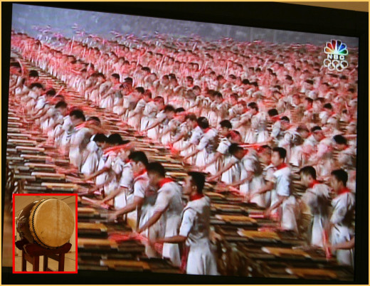 Experience the Beijing Drummers on video with excellent audio.