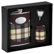 Drinking Flask Gift Set