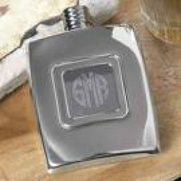 Engraved Stainless Flask
