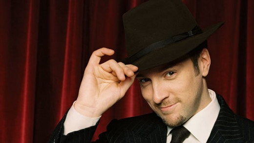 Derren Brown Famous Illusionist Now he knows how to manipulate the public with his clever stage shows.  public domain