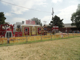 Local fairs are a great option for entertaining kids cheaply.