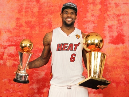 The only thing LeBron's critics can say about him now is that he only has one ring.