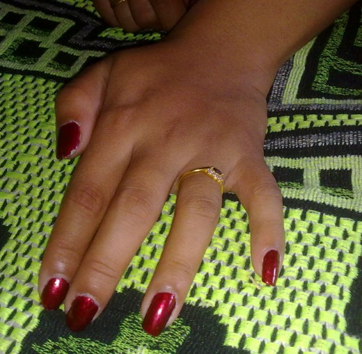 Red Beautiful Nails