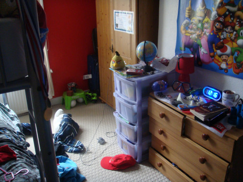 Keep Your Childs Bedroom Tidy