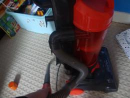 vacuum around