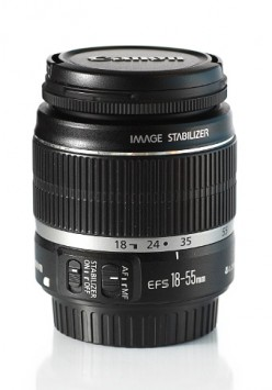 Canon EF-S 18-55mm f/3.5 - 5.6 IS kit lens user review with image gallery