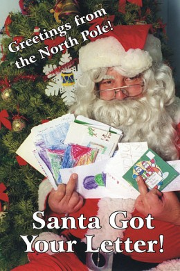If Santa saw the behaviour of my children at home, he would surely leave them a gift of coal.