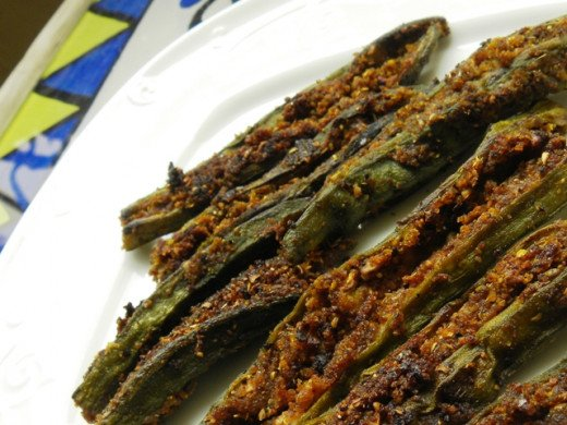 Tasty Ladies finger fry or Bhindi Fry or Vendaikai Poriyal