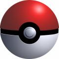 A Pokéball, the basic ball for catching Pokémon.