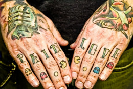 Tattoos on the hands, neck, and face place a candidate at high risk of being rejected for job placement.
