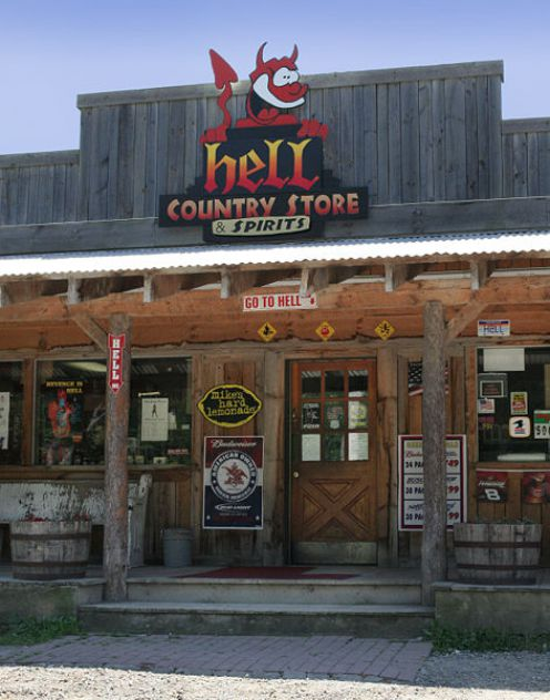 Hell's General Store.