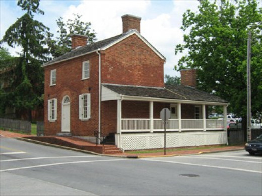 The Johnsons' Early Home (1830s-1851), Greeneville, TN