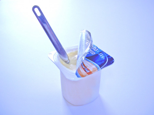 Probiotics in yogurt help keep tummies regular and boost your immune system.