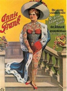 German Annie Frank 1941 Postcard