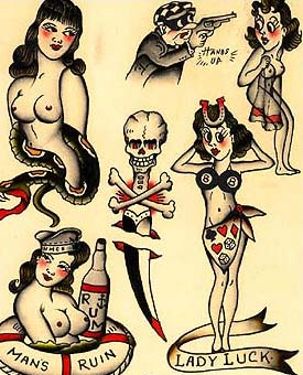 A Blast From The Past Tattoo Collection